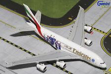 """GEMINI JETS EMIRATES """"PSG FRANCE  AIRBUS A380-800 1:400 DIE-CAST MODEL GJUAE1551"""