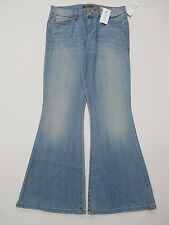 Level 99 Women's Blossom Flare Jean Light Washed Size 12 NWT $123