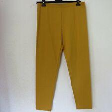 BORIS INDUSTRIES stylische Stretch Leggings Baumwolle safran 46 (4)