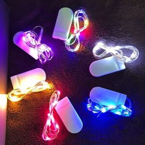 20 LED Battery Powered Mini String Fairy Lights Waterproof 2M Copper Wire LED