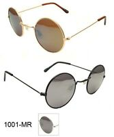 John Lennon Style Vintage Round Circle Retro Classic Mirror Sunglasses Men Women