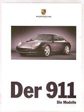 Buch Der 911. Die Modelle. Stand 9/98 Stuttgart, Porsche AG 114 Seiten mit zahlr