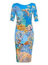 Mary Katrantzou Ramora Ocean Pile Viscose Jersey Dress XS