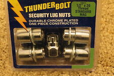 Thunder Bolt Security Lug Nuts 1/2 in. x 20 Thread Standard Mag (19911)