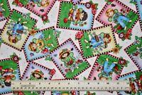 1/2 yard cotton quilt fabric Mary's Fairies Fairy Patch Mary Engelbreit gardens