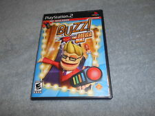 BUZZ! THE MEGA QUIZ Playstation 2 game Complete !