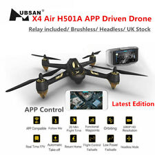 Hubsan X4 H501A Pro Drone FPV Brushless 1080P CAM Follow Me GPS APP+Controller