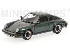 PORSCHE 911 CARRERA COUPE 3.2 1983 GREEN METALLIC MINICHAMPS 100063022 1/18 1:18