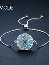 Womens bracelet bangle blue crystal latest fashion designer style