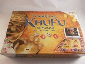 Atmosfear KHUFU The Mummy DVD Board Game 100% Complete **Free P&P**