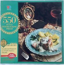 Mb Betty Crocker 550 Piece Puzzle W/ Recipe Card Seafood Ragout