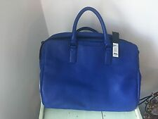 Marc By Marc Jacobs Men's Blue Classic Leather Briefcase