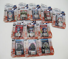 "Transformers Thrilling 30 Mini Figures 11 different - 1 1/2"" in + base Card"