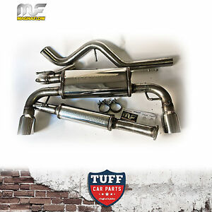 """TOYOTA 86 FT86 MAGNAFLOW 2.5"""" STAINLESS STEEL CATBACK SPORTS EXHAUST WITH TIPS"""