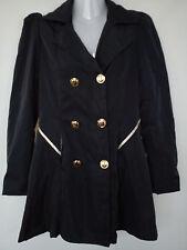 Nice NAVY spring autumn ladies womens coat jacket size M size 10