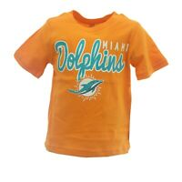 Miami Dolphins Official NFL Apparel Infant Toddler Size T-Shirt New With Tags