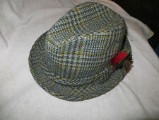 Vintage Knox Fedora Hat Feathered MENS SIZE 7 1/8