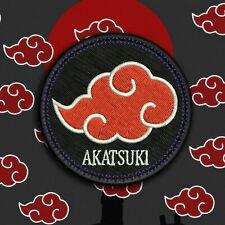 Parche bordado NARUTO clan akatsuki Anime iron patch cloud sasuke