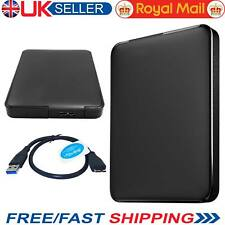 """Nuevo 2.5"""" pulgadas gabinete de unidad de disco duro HDD externa USB 3.0 SATA Caja Caddy UK"""