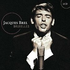 JACQUES BREL - BRUXELLES  2 CD NEW