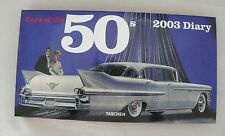 Cars of the 50's ~ 2003 Diary ~ Weekly Fold-out Calendar  Classic American Cars