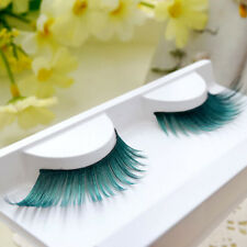 Spring Green Winged Artificial False Eyelashes Beauty Makeup Party  Dance Stage