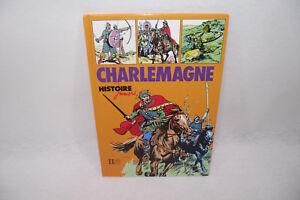 Livre Histoire Juniors CHARLEMAGNE Edition Hachette 1979 Griffon