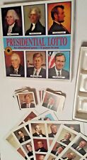 Presidential Lotto ~ Educational 2-in-1 Game ~ Smithsonian Institute ~ Vintage