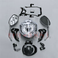 Ensemble de phare avant pour moto ajusté pour YAMAHA FZ6 2004-2006 2005