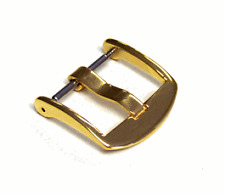 18mm Panatime Gold Tone ARD Watch Buckle - Spring Bar Attachment