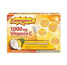 Emergen-C 1000 mg Vitamin C, Coconut Pineapple 30 ea
