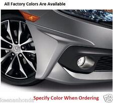 Genuine OEM Honda Civic 2Dr / 4Dr Front Under Body Spoiler Kit 2016 - 2018