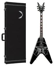 Dean Eric Peterson Signature V Electric Guitar w/ Case, Skull Graphics, EPV