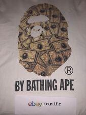 A Bathing Ape Gold Card Bape Head Exclusive Rare T-Shirt Size Medium