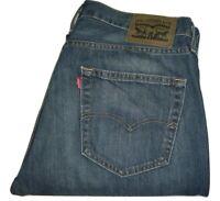 Mens LEVI'S 527 Dark Blue (0215) Slim Bootcut Denim Jeans W32 L34