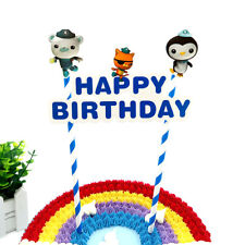 OCTONAUTS CAKE BUNTING Banner Topper Decoration Happy Birthday Party
