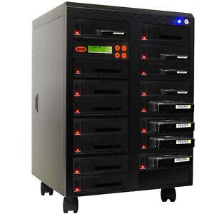 "SySTOR 1:15 SATA 3.5"" 2.5"" Hard Disk Drive HDD/SSD Duplicator Sanitizer -600MB/s"