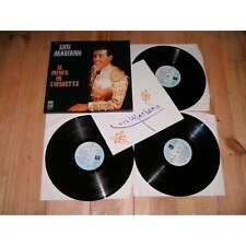 LUIS MARIANO le prince de l'operette EMI BOX COFFRET 3 Lp 1978