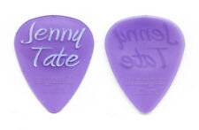Jenny Tate Signature Clear Purple Guitar Pick - 2011 Tour
