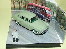 SIMCA P60 Vert 1960 NOREV avec figurine, boitage diorama