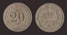 """20 CENTESIMI 1895 ROMA - UMBERTO I """"RARA"""""""