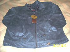 NEW WITH TAGS A EMPORIO COLLEZIONE LARGE SUEDE JACKET