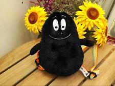 Barbapapa Barbamama Black Shoulder Bag Backpack Stuffed Plush Toy for baby