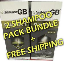 1 Bundle Hair Loss Shampoo for Growth Sistema GB Alopecia Shampoo 1&2 for MEN
