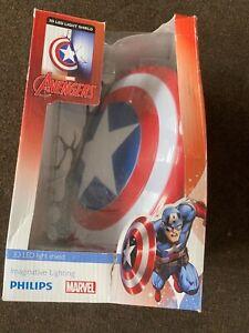 Marvel Captain America shield 3D LED Light