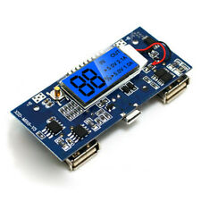Lithium ion Battery Charger Module Boost Board 5V 2A Dual USB LCD all-in-one New