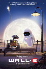 WALL-E MOVIE POSTER 2 Sided RARE ORIGINAL INTL Ver B 27x40 DISNEY