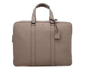 $1320 Montblanc Meisterstuck Briefcase Document Bag New