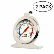 Oven Thermometer Series Large Dial Thermometer 100 to 600 Degrees (2Pack)