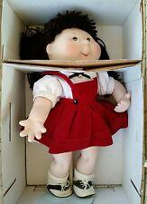 "Collectible Cabbage Patch Porcelain Doll ""Jennifer Sue"" by Danbury Mint 1995"